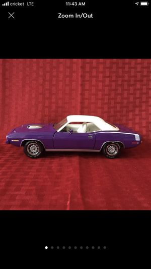 Franklin mint 1970 Plymouth for Sale in Bradley, IL