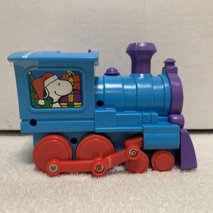 Snoopy Christmas Candy Blue Train, Galerie, Collectible Toy for Sale in Dayton, OH