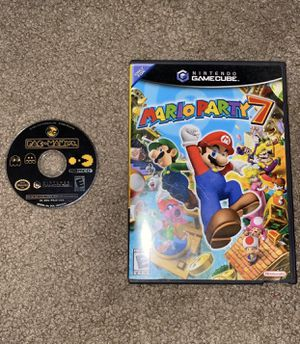 Mario Party 7 and Pac-Man VS Nintendo GameCube for Sale in San Marcos, CA