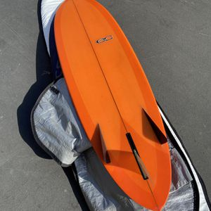 7'2 Ec mini Glide-o-Rama Bonzer surfboard!! Complete setup!! for Sale in Huntington Beach, CA
