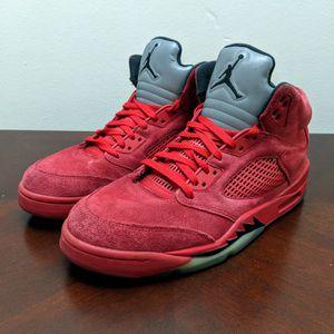 Jordan Retro 5 Red Suede. sz 11 for Sale in Smyrna, GA