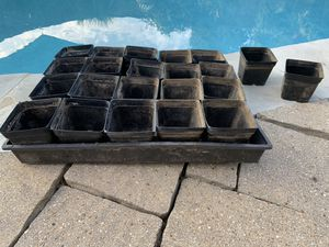 "Four 3"" Plastic Planting Pots for Sale in Plano, TX"