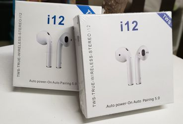 True Wireless Bluetooth 5.0 Earphones Touch Control Headphones Earbuds Headset for Sale in Long Beach,  CA