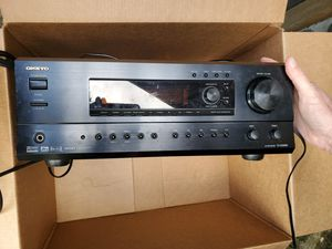 5 Infinity HTS Surround Speakers & Onkyo Receiver for Sale in Oregon City, OR