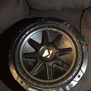 "Kicker Speaker 10"" & 10"" Box for Sale in Irving, TX"