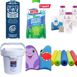 Pool chemicals and pool toys (chlorine, increase, decrease, algecide) for Sale in Woodbridge, VA