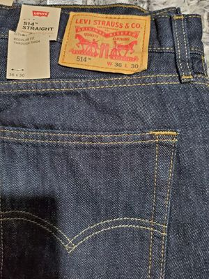 New 514 Levi's size 36x30 for Sale in San Jose, CA