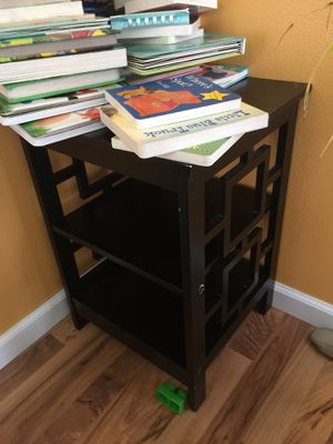 Black side table for Sale in Peoria, IL