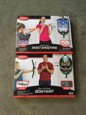 Kids games skeet shoot & bow hunt for Sale in Saint Paul, MN