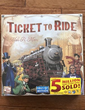 Ticket To Ride Board game for Sale in Cary, IL