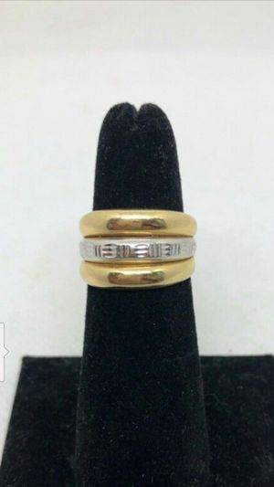 14k Gold, Yellow/White Ring, 4.2 grams for Sale in Santa Ana, CA