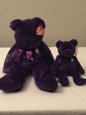 Ty Princess Beanie Baby and Beanie Buddy for Sale in Orlando, FL