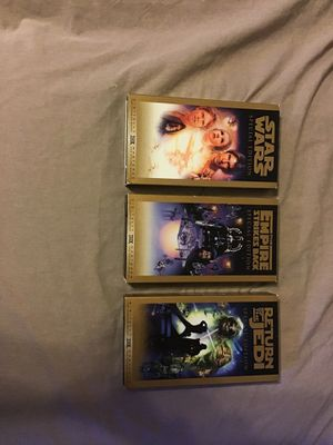 Star Wars special edition trilogy for Sale in St. Louis, MO