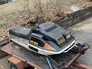 2 vintage snowmobiles for Sale in Billerica, MA