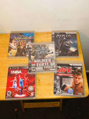 PS3 GAMES for Sale in Ontario, CA