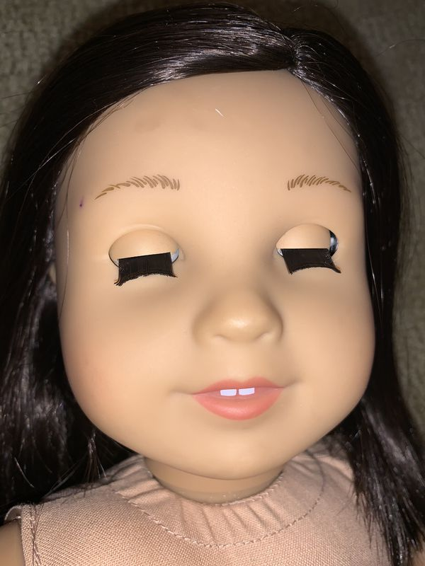 American girl true me doll 18'