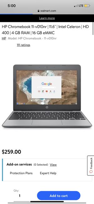 Hp chromebook 11 for Sale in Waldorf, MD