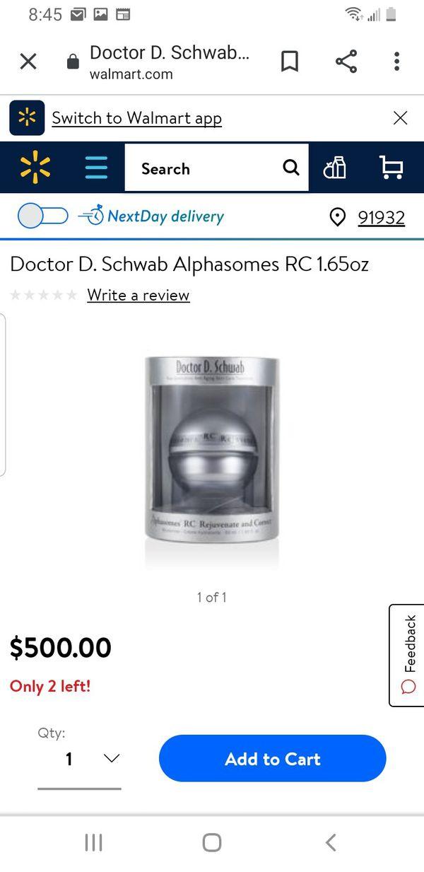 Doctor D. Schwab Alphasomes RC 1.65 fl oz