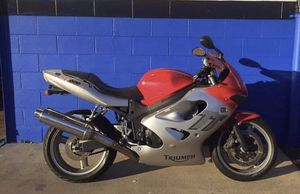 Triumph motorcycle sportbike trade for boat or jet skis for Sale in Orlando, FL