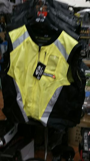 Motorcycle riding specialty high visibility vest for Sale in Los Angeles, CA