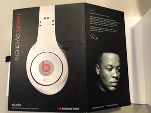 Beats by Dr.Dre Studio Wired Headphones for Sale in Portland, OR