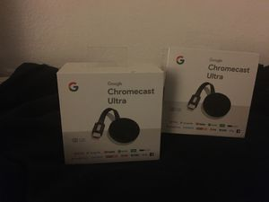ChromeCast Ultra 4K 2 for 120$ for Sale in Montclair, CA