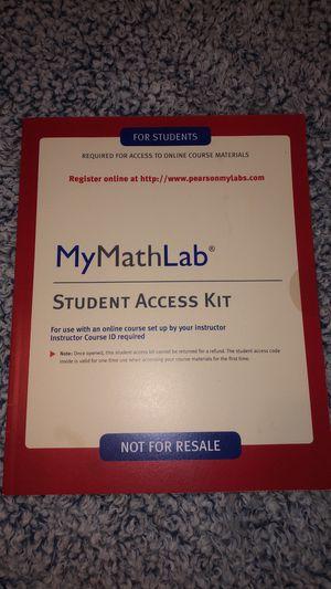 MyMathLab Access Code for Sale in Westwego, LA
