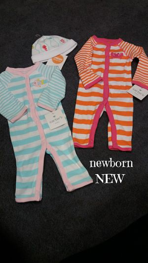 NEW with tags, baby girls size newborn clothing $10 for Sale in Monroeville, PA