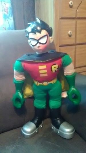 Vintage 21 inch teen Titans go Robin doll 2004 for Sale in District Heights, MD