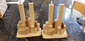 Vintage pair World Trade Center statues for Sale in Orlando, FL