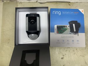 Ring spot wired cctv camera for Sale in Monterey Park, CA