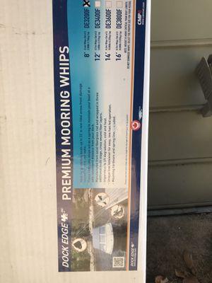 Boat mooring whips for Sale in Marietta, GA