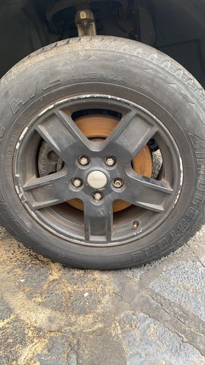 17 in Jeep wheels for Sale in Trumbull, CT