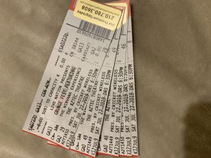 4 tickets to Grunge Fest Featuring The Nirvana Experience. Get All 4X$20 for Sale in San Antonio, TX
