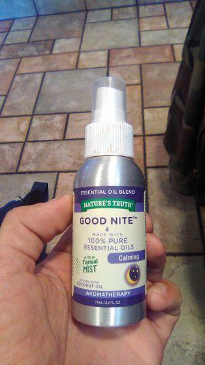 Good Nite Aromatherapy body mist. for Sale in Wichita, KS