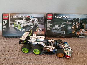 Lego Technic 42046 and 42047 for Sale in Maple Valley, WA