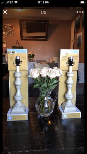 Table lamps 🖤 for Sale in Los Alamitos, CA