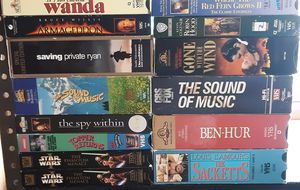 100 VHS tapes for Sale in Everett, WA