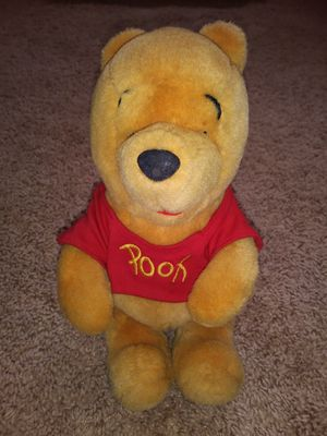 "Walt Disney 10"" Winnie the Pooh Sitting Plush Stuffed Animal Toy Bear for Sale in Arlington, VA"