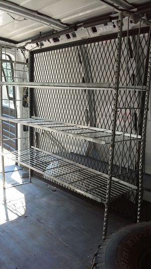 Metal rack for work van for Sale in Manchester, PA