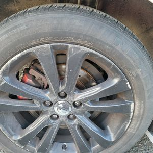 17inch Bolt Patter 5x110 Rims With Tires for Sale in Rockville, MD