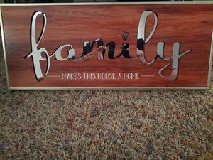Family mirrored house decor for Sale in Mesa, AZ