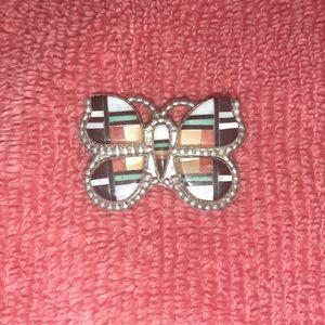 Zuni Butterfly Broach Or Pendant Signed for Sale in Phoenix, AZ