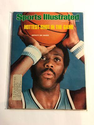 Bob McAdoo 1976 Sports Illustrated for Sale in San Jose, CA