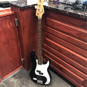 Electric Bass Guitar Squire for Sale in Pflugerville, TX