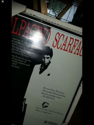 Movie Scarface Poster for Sale in South Gate, CA