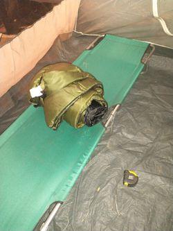 Sleeping Cott 76x23 In Blue Sleeping Bag $15 for Sale in Federal Way,  WA