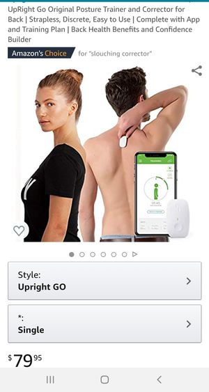 Upright GO Posture Trainer & Corrector for Sale in Hamilton, OH