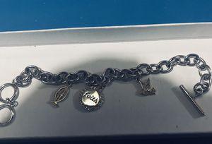 Brand new Jesus/faith silver bracelet for Sale in Tacoma, WA