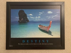 Wall Art-Painting Room Decor- Pyramid Poster Destiny for Sale in Addison, IL